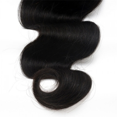 High Quality Body Wave Brazilian Virgin Human Hair Weave 4pcs Bundles Natural Color