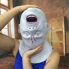 Dump Head Alien Latex Cosplay Mask Ship from USA