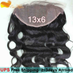8A 13X6 Lace Frontal Closure Ear To Ear Lace Frontal Body Wave with Baby Hair Peruvian Unprocessed Virgin Human hair in stock