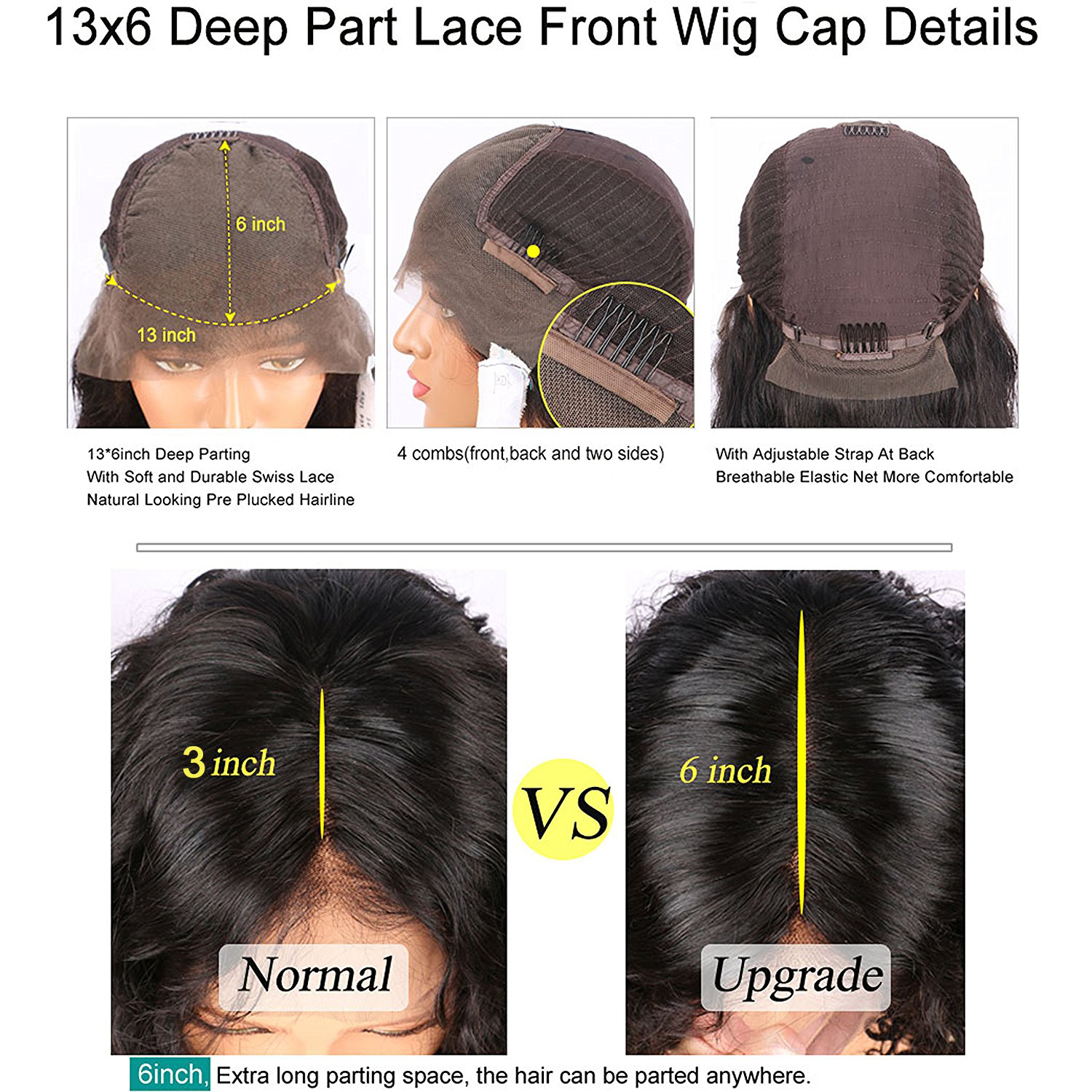 Brazilian virgin hair 13x6 lace front wigs silky straight short bob if you want to buy the wig pls leave me message including hair color hair part cap color cap size or we will send u free part medium brown cap color nvjuhfo Images