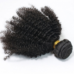 Afro Kinky Curly 4pcs Bundles Deal Malaysian Human Hair Weaves 28inch