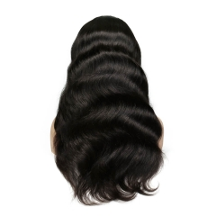 Top Quality April Lace Wigs Silk Top Peruvian 130% Density 100% Virgin Human Hair Wigs Full Lace Wigs Body Wave Natural Hair Line Wigs