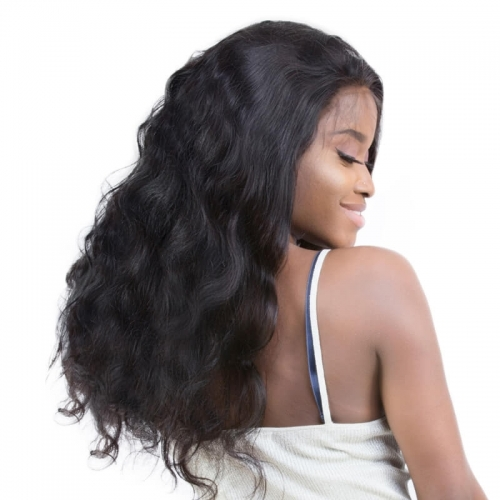Silk Top Lace Wigs Cheap 130% Density Silk Base Full Lace Wigs For Black Women Body Wave Human Hair Wigs