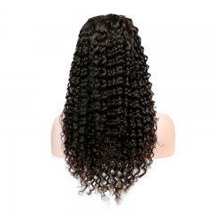 250% High Density Deep Curly for Black Women Human Wigs with Baby Hair Natural Hair Line Full Lace Human Hair Wigs
