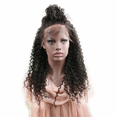 Eseewigs 8A Kinky Curly Glueless Full Lace Human Hair Wigs Brazilian Virgin Hair Lace Front Wigs For Black Women