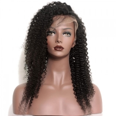 360 Lace Frontal Wig 180% Lace Front Human Hair Wigs 360 Lace Wig 8A Kinky Curly Full Lace Human Hair Wigs For Black Woman