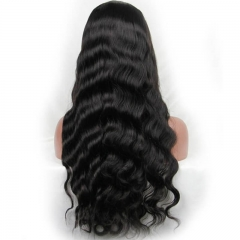 Brazilian Body Wave Full Lace Wig Human Hair Wig With Natural Hairline Baby Hair Real Human Hair