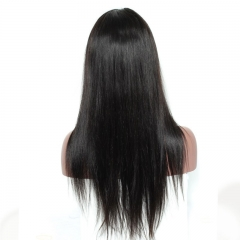 Pre-Plucked 250% Density Lace Front Wig Silky Straight Glueless Full Lace Wigs with Baby Hair