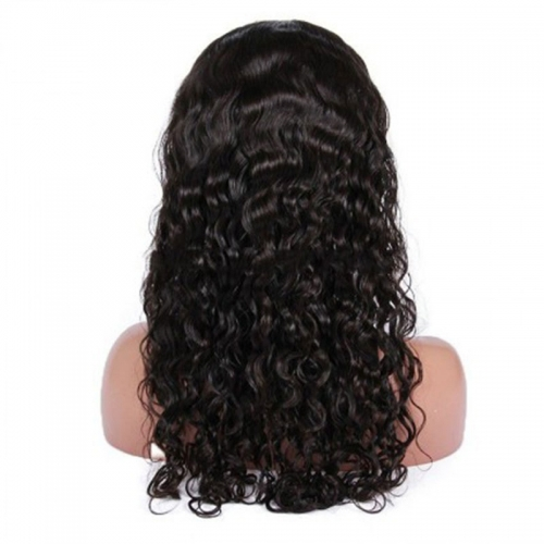 Long Loose Curly Glueless Full Lace Wigs Indian Remy Hair 130 Density Soft Curls for Long Hair