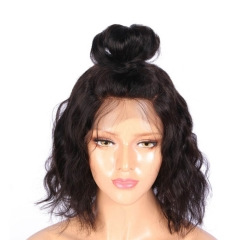 Silk Top Lace Wigs Loose Wave Brazilian Full Lace Wigs 130% Density For Black Women Human Hair Wigs