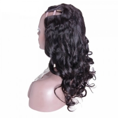 African American Body Wavy Malaysia Virgin Human Hair U Part Wigs Bestellen 8-24 in stock