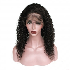 Lace Front Wigs 150% Density Natural Color Lace Human Hair Wigs for Black Women Curly Remy Hair Wigs with Baby Hair
