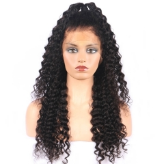 Deep Wave Lace Front Wigs And Full Lace Wig 100 Brazilian Human Hair Hair