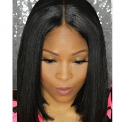 Top Grade Pre Cutting Bob Wigs Hairdo Virgin Hair Brazilian Hair Lace Front Bob Wigs Glueless Full Lace Bob Wigs