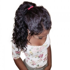 Silk Base Glueless Full Lace Wigs Human Hair With Baby Hair For Black Women Natural Hair Line
