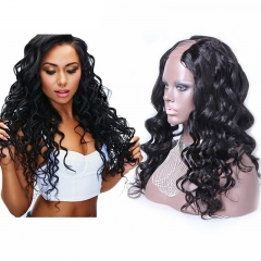 U Part Wigs For Sale Loose Wave Upart Malaysia Virgin Human Hair 8-24 in stock