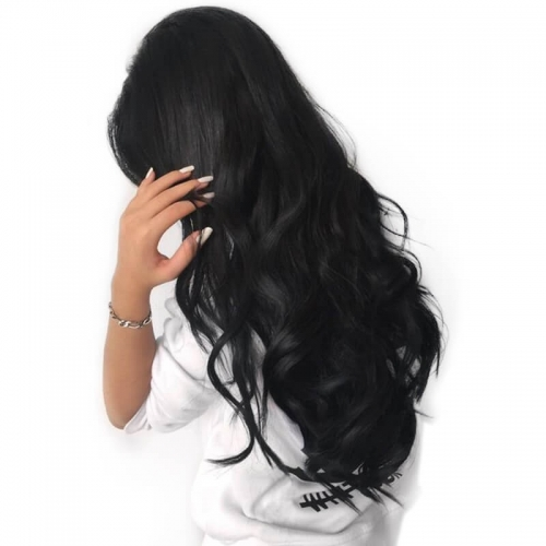 Pre-Plucked 250% Density Lace Front Wigs Body Wave Natural Hair Line Glueless Full Lace Human Hair Wigs with Baby Hair