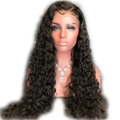 Brazilian Virgin Human Hair Curly 13x6 Lace Front Wigs Glueless Human Hair Wigs with Baby Hair for Black Women Curly
