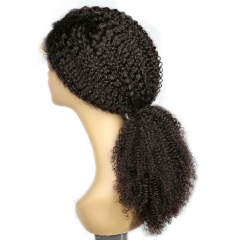 250% Density Lace Wig Kinky Curly Pre-Plucked Human Hair Full Lace Wigs Malaysian Hair Human Hair Wigs