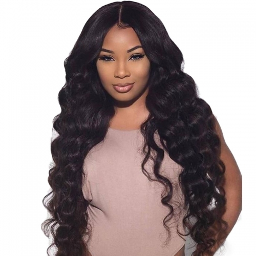 360 Lace Wigs Loose Wave Brazilian Full Wigs 180% Density for Black Women Human Hair Wigs