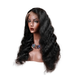 Silk Top Full Lace Wig With 100 Hidden Knots Body Wave Human Hair Wigs Natural Hair Line With Baby Hair