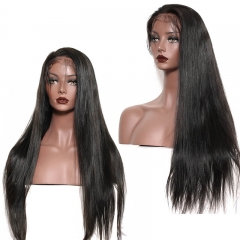 Brazilian Human Hair Lace Front Wigs Silk Straight Full Lace Human Hair Wigs for black women Glueless Full Lace Wigs