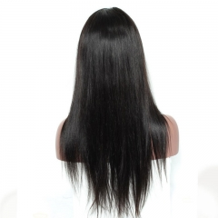 Cheap 6 Inch Deep Part Lace Front Frontal Wig Silky Straight Brazilian Remy Hair More Natural Human Hair Wigs for Black Women