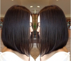 Cheap Wigs Bob Front Lace Wigs For Black Women Malaysia Vrigin Hair Light Yaki Straight