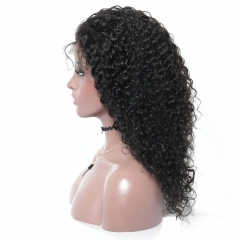 13x6 Curly Lace Front Human Hair Wigs Pre-Plucked Hairline 150% Density 8A Remy Remy Hair Wigs Glueless Lace Front Wigs with Baby Hair