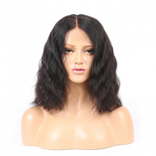 Lace Front Wigs Human Hair for Women with Baby Hair 150% Density Brazilian Remy Short Wigs for Black Women with Pre Plucked Hairline