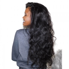 250% Density Malaysian Hair Body wave Full Lace human Hair Wigs Glueless Lace Front Wigs
