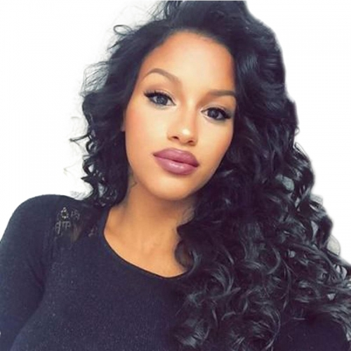 Silk Top Lace Wigs Loose Wave Silk Base Full Lace Wig  130% Density 100% Human Hair Brazilian Virgin Hair Natural Hair Line Wigs