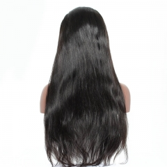 13x6 Lace Front Brazilian Human Hair Wig 150% Density with Baby Hair Straight Lace Front Wigs