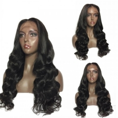 13x6 Deep Part Lace Front Brazilian Wigs 150% Density Remy Unprocessed Wet and Wavy Wigs With Baby Hair