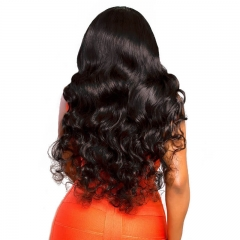 Pre-Plucked 250% Density Wigs Body wave Full Lace Wigs Human Hair with Baby Hair for Black Women Natural Hair Line
