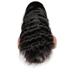 Pre-Plucked 250% Density Wigs Peruvian Human Hair with Baby Hair Full Lace Wigs for Black Women
