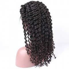 Deep Wave Glueless Full Lace Human Hair Wigs For Black Women Malaysian Virgin Hair Lace Frontal Wig