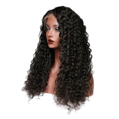 150% Density Lace Wigs Deep Wave Human Hair Wigs Pre-Plucked Natural Hair Line No Tangle