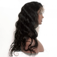 Body Wave Full Lace Human Hair Wigs For Black Women Pre Plucked Brazilian Human Hair