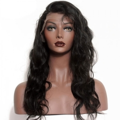 Body Wave Malaysian Hair 360 Lace human Hair Wigs Natural Hairline with Baby Hair