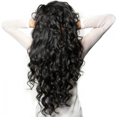 360 Lace Wigs 180% Density 360 Circular Lace Human Hair Wigs peruvian virgin Full Lace Wigs Loose Wave