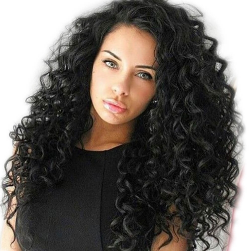 Silk Top Lace Wigs Brazilian Full Lace Wigs Loose Wave 130% Density For Black Women Human Hair Wigs
