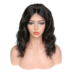 150 Density 13x6 Front Lace Deep Part Human Hair Wigs With Naural Hairline Baby Hair