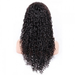 Where To Buy Full Lace Wigs Water Wave Full Lace Human Hair Wigs Brazilian Hair Natural Color