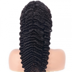 Glueless Full Lace Wig Brazilian Deep Wave Human Hair Wigs For Black Women Best Lace Front Wig With Baby Hair