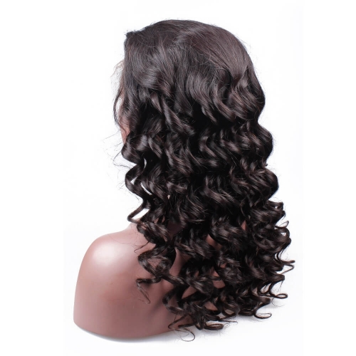 360 Lace Wigs Brazilian Full Lace Wigs Loose Wave 180 Density for Black Women Human Hair Wigs