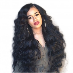 250% Density lace Body Wave Wigs Full Lace Human Hair Wigs Pre-Plucked Natural Hair Line with Baby Hair