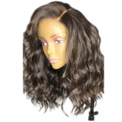 Glueless Full Lace Human Wig Lace Front Human Wig Wavy Brazilian Human Hair Virgin Hair