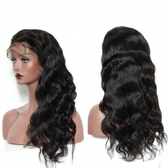 Glueless  Full Lace Wigs With Silk Top Pre-Plucked Wigs Body Wave Natural Hair Line  With Baby Hair
