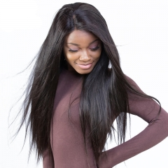 Top Grade Brazilian Virgin Hair Lace Front Wigs Silk Straight Full Lace Human Hair Wigs for black women Glueless Full Lace Wigs